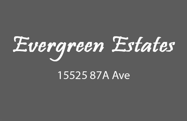 Evergreen Estates 15525 87A V3S