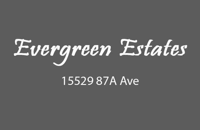 Evergreen Estates 15519 87A V3S