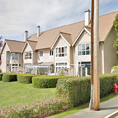 Rainbow Estates - Typical part of the complex!