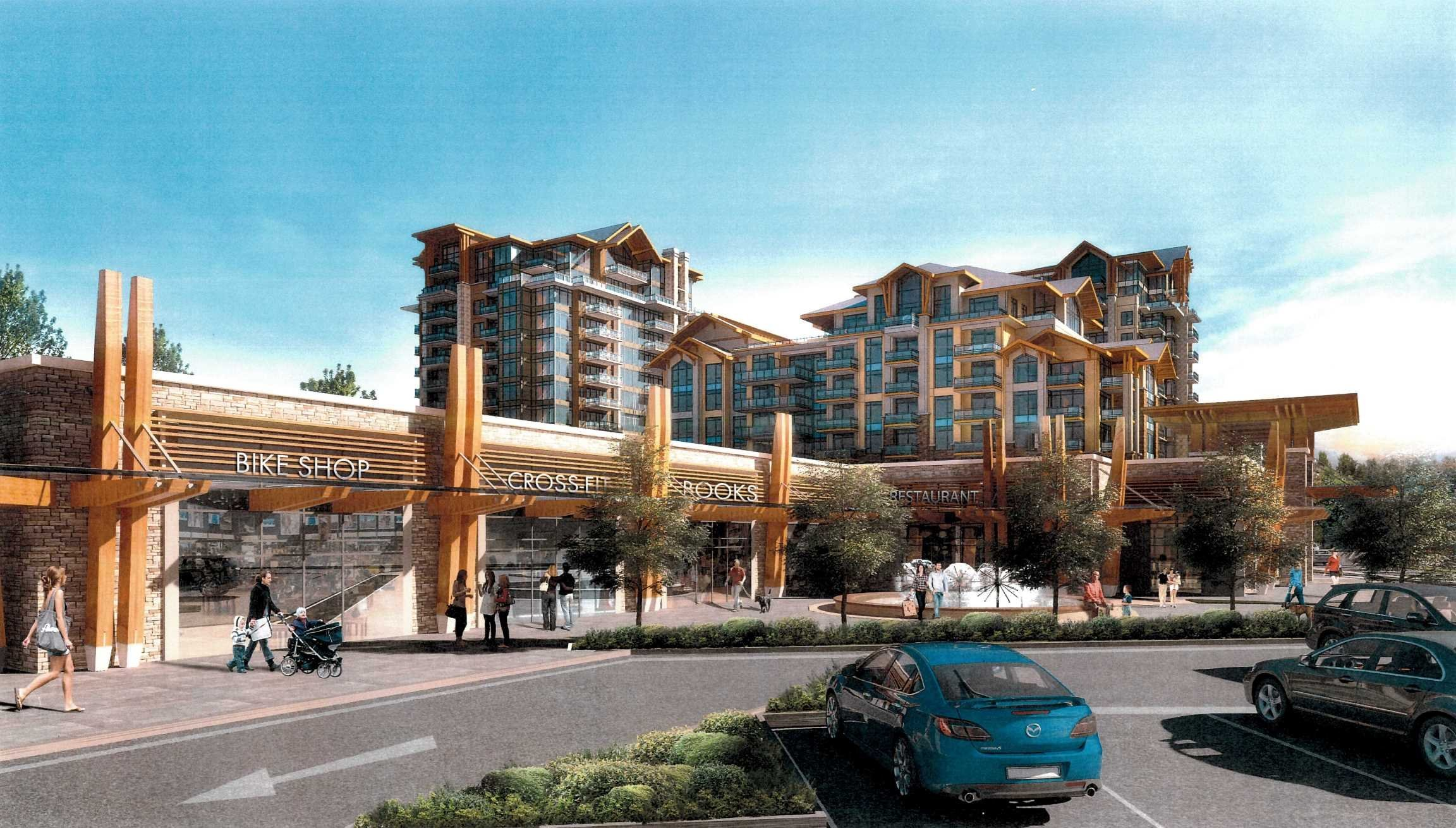 The Residence at Lynn Valley Retail Area!