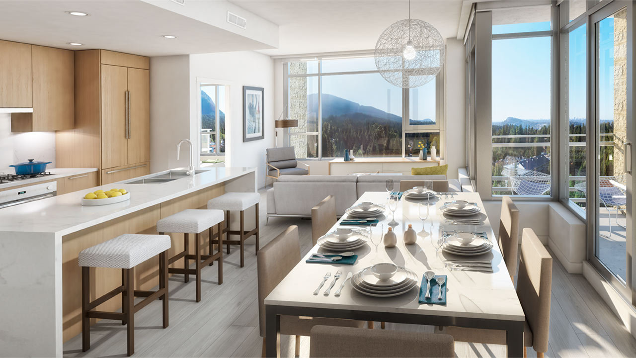 The Residence at Lynn Valley Display Rendering!