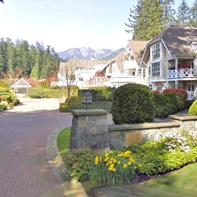 The Capilano Estate - Typical part of the complex!