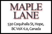 Maple Lane 530 COQUIHALLA V0X 1L0