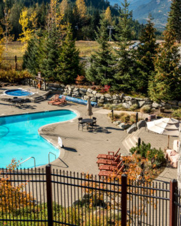 2300 Nordic Dr, Whistler, BC V0N 1B2, Canada pool area!
