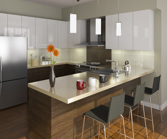 Tatlow Homes Kitchen Rendering!