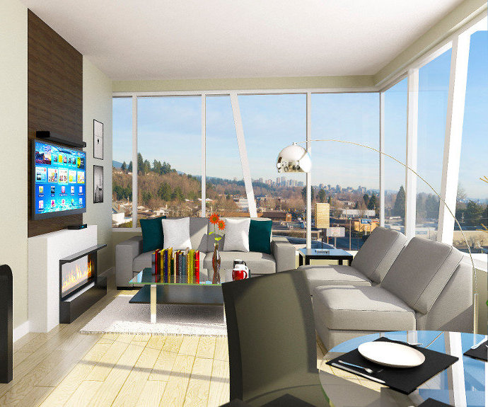 Tatlow Homes Living Room Rendering!