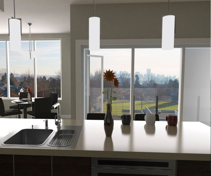 Tatlow Homes View From Kitchen Rendering!