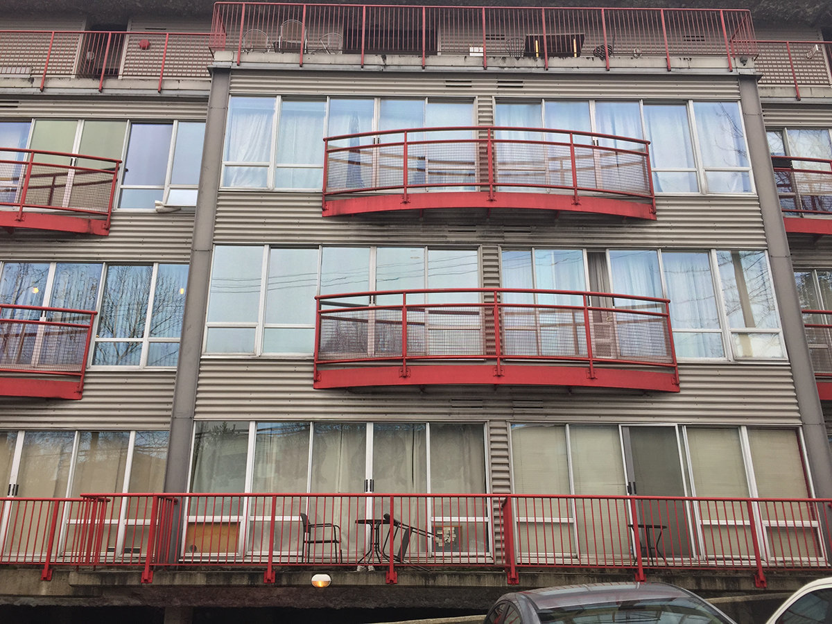 Main Space Balconies!