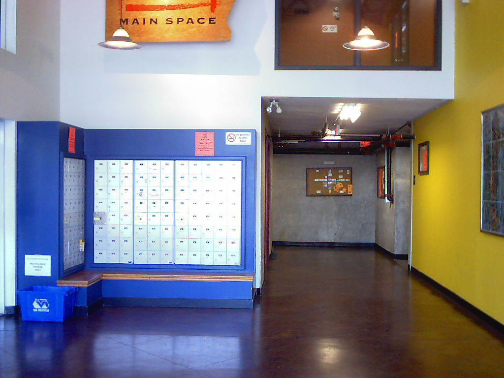Main Space Lobby Mail Boxes!