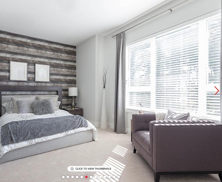 SOHO 2 Townhouses bedroom!