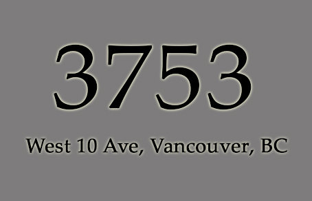 3753 West 10th 3753 10TH V6R 2G5