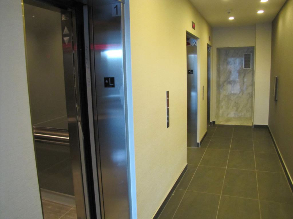 The Mark Lobby Elevators!