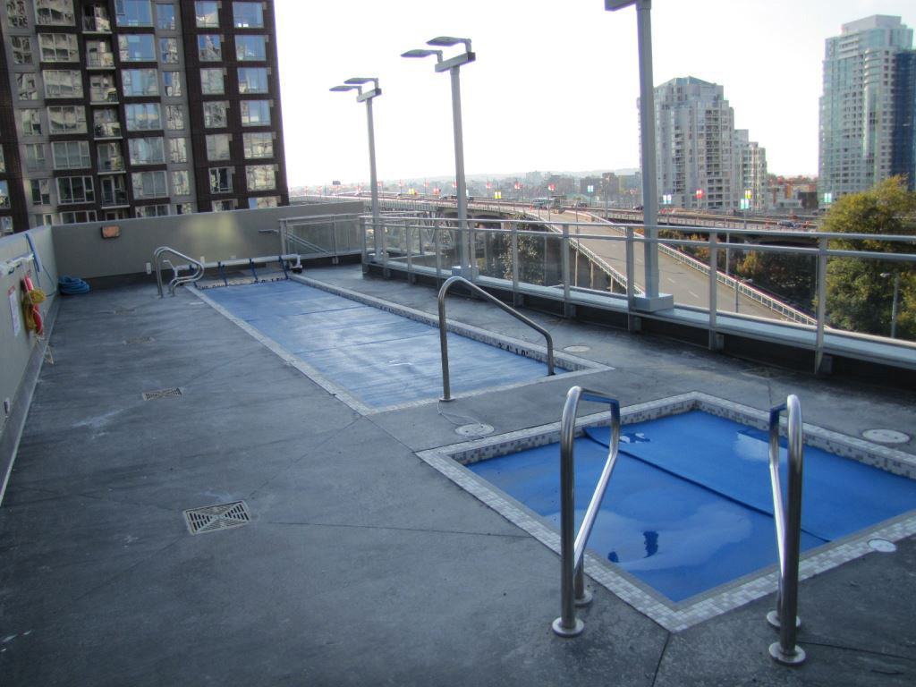 The Mark Lap Pool On Third Floor!