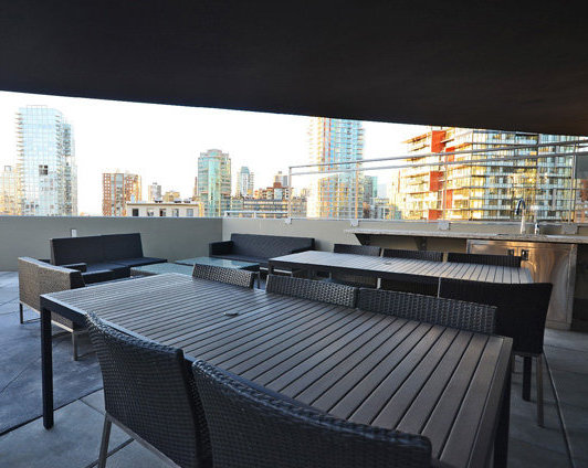 The Mark Amenity Patio!