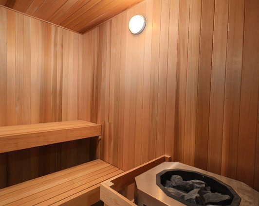 Sauna At The Mark !