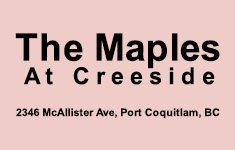 The Maples At Creekside 2346 MCALLISTER V3C 2B1