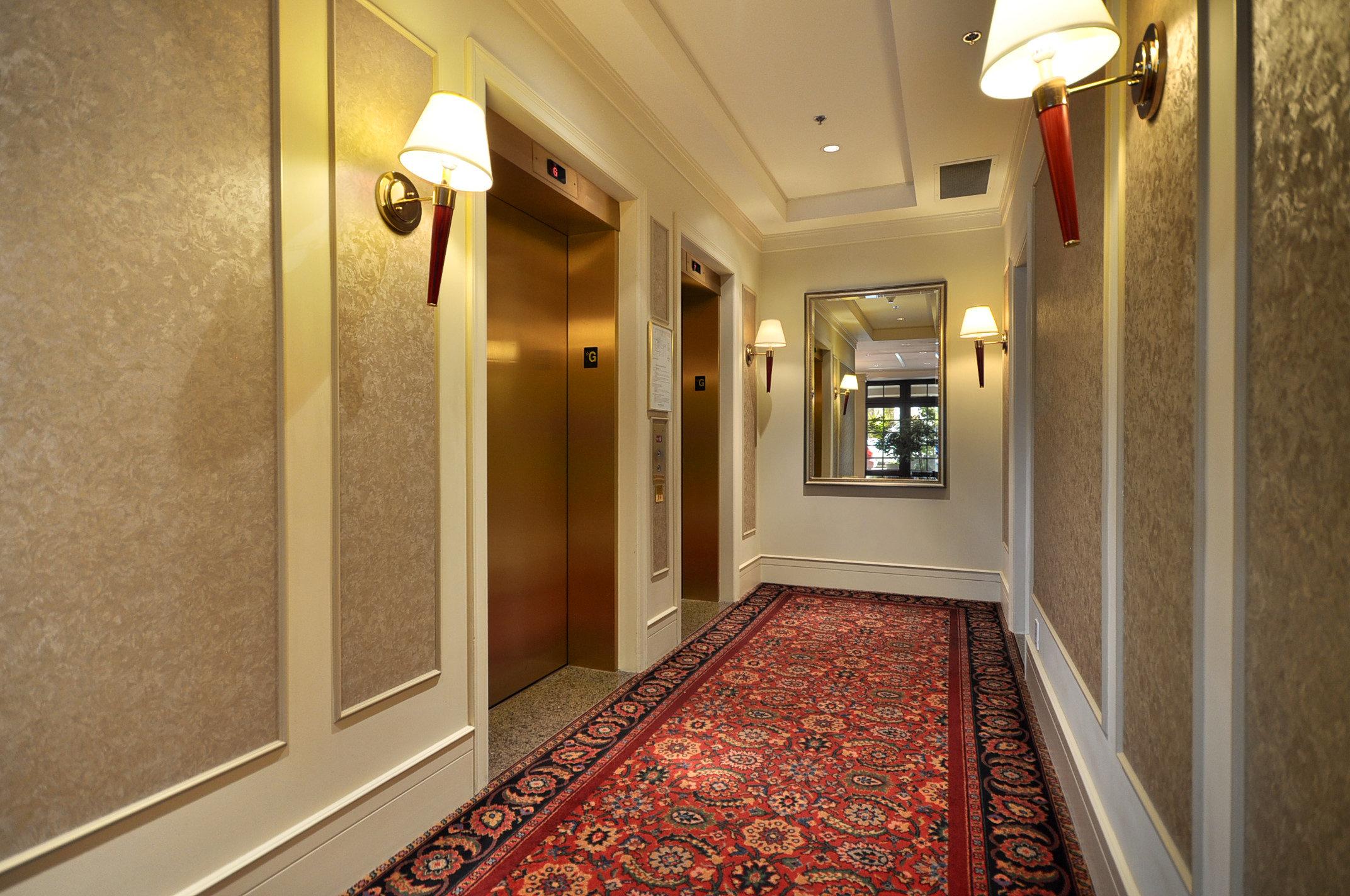 Elm Park Place Lobby Elevators!