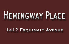Hemingway Place 1412 ESQUIMALT V7T 1K7