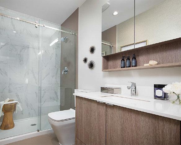 621 Regan Ave, Coquitlam, BC V3J 3A3, Canada Rendering Bathroom!