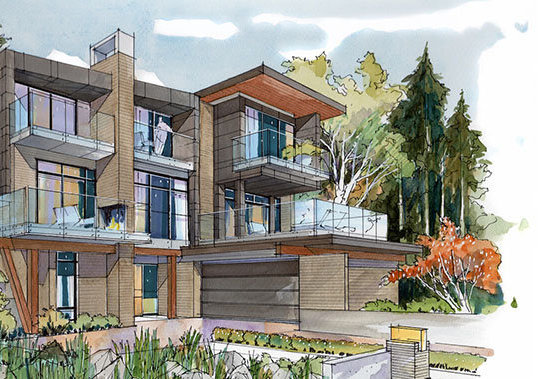 2981 Burfield Place, West Vancouver, BC V7S 0A9, Canada Illustration!