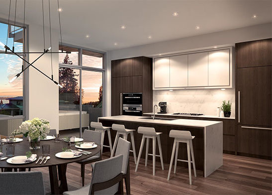 2978 Burfield Pl, West Vancouver, BC V7S 3H9, Canada Dining Area & Kitchen!
