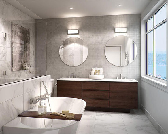 2982 Burfield Pl, West Vancouver, BC V7S 3H9, Canada Rendering Bathroom!