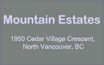 Mountain Estates 1950 CEDAR VILLAGE V7J 3M5