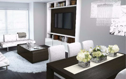 Dining & Living Area!