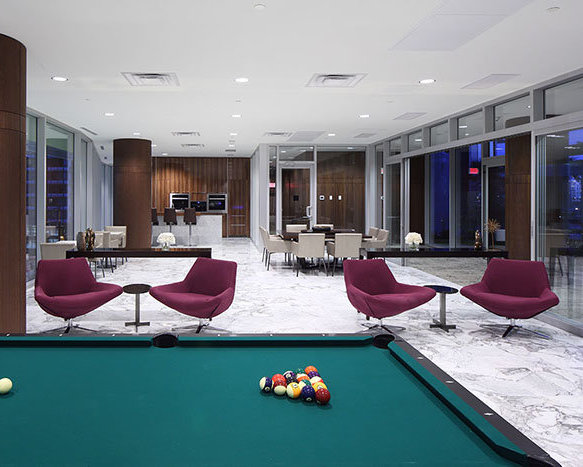 Billiards & Games Area!