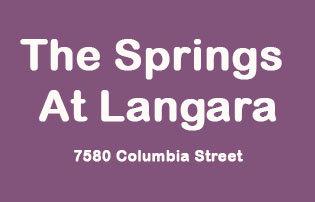Springs At Langara 7580 COLUMBIA V5X 4S8