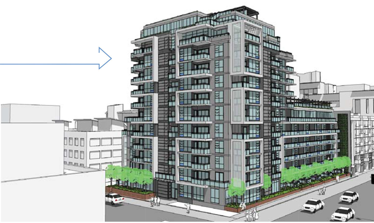 371 W 2nd Avenue Rendering!