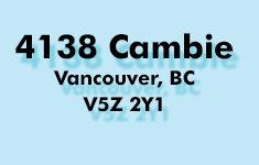 4138 Cambie 4138 Cambie V5Z 2Y1