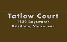 Tatlow Court 1820 BAYSWATER V6K 4A4