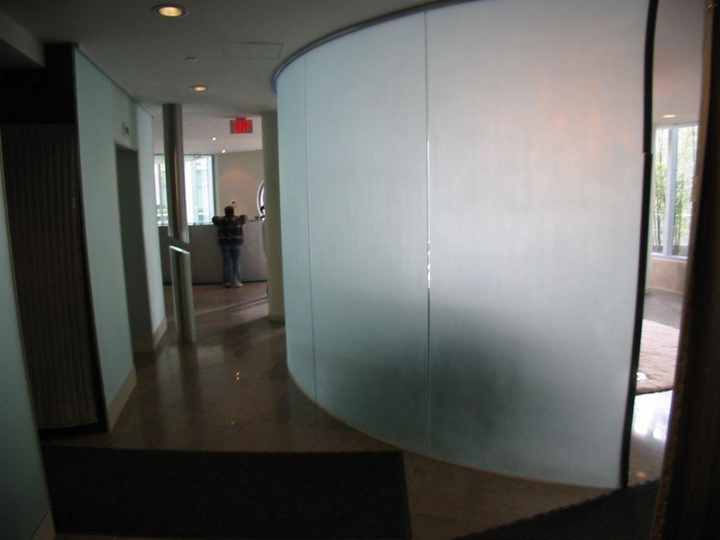 The Erickson Lobby Elevators!