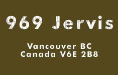 969 Jervis 969 JERVIS V6E 2B7