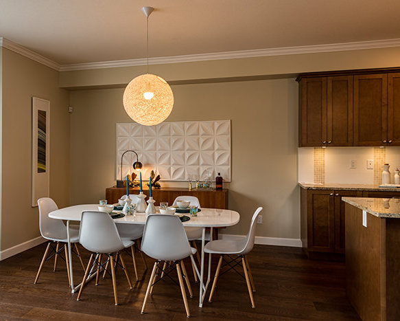 Showhome Dining Area!