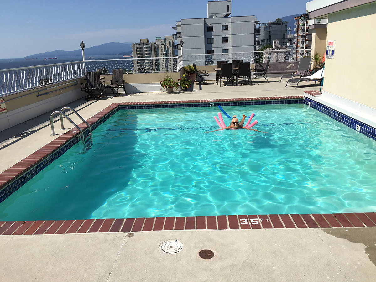 1100 Harwood Outdoor Swimming Pool!