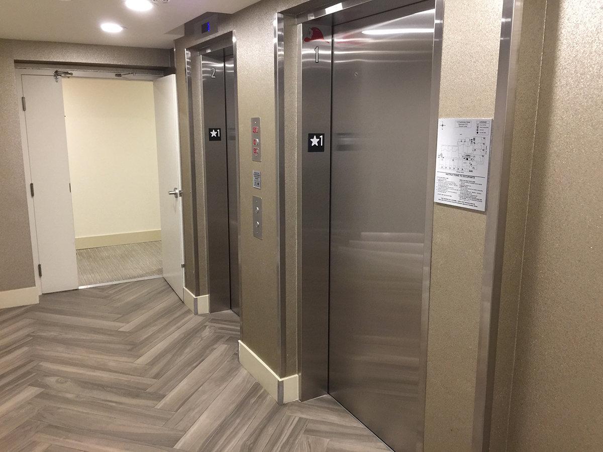 Lido Lobby Elevators!