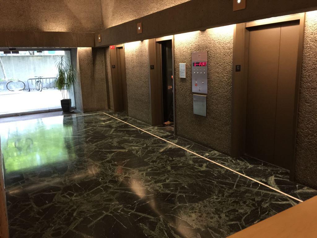 Qube Lobby Elevators!