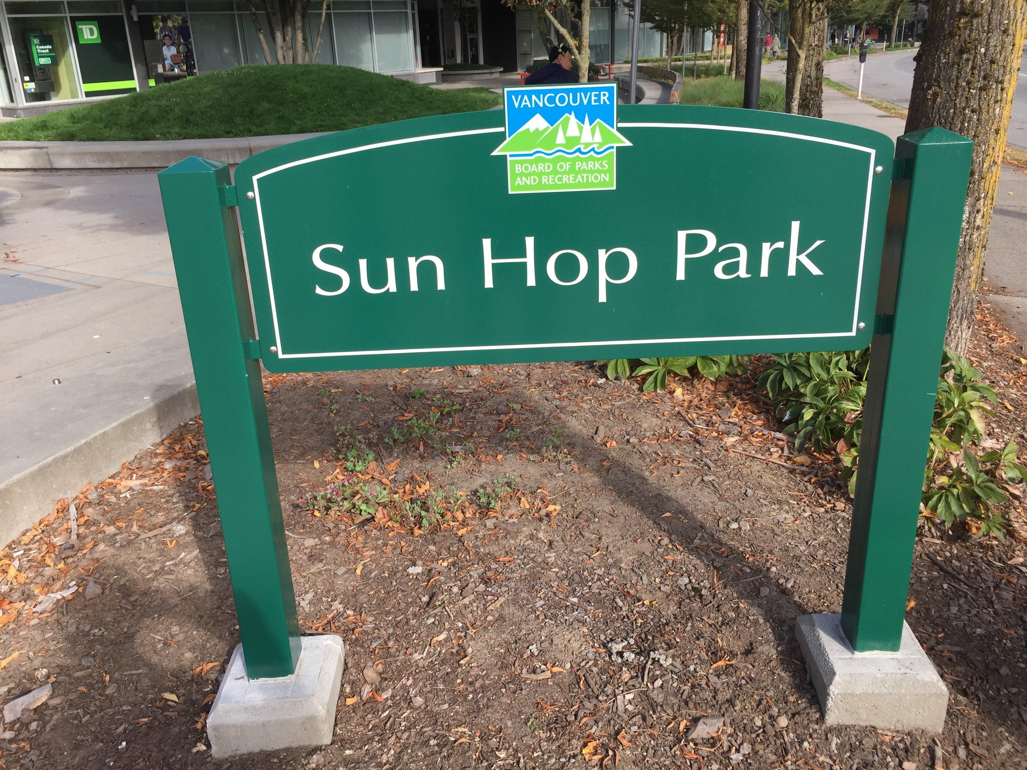Park Across Street!