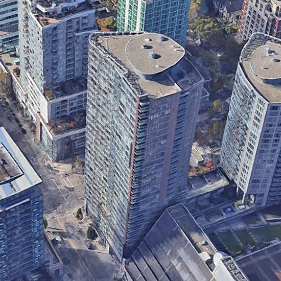 TV Tower 2 - 233 Robson Street!