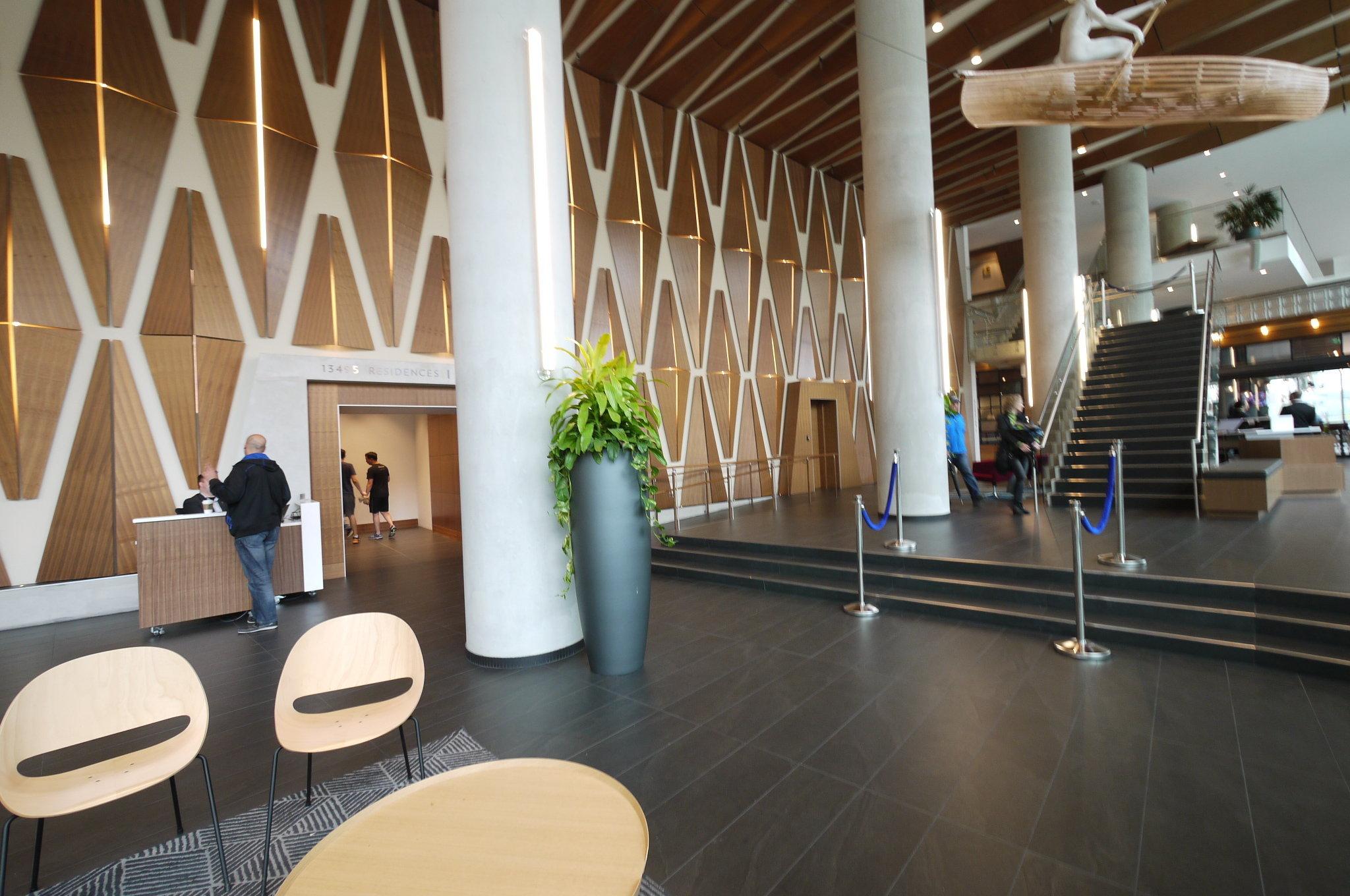 3 Civic Plaza Lobby!