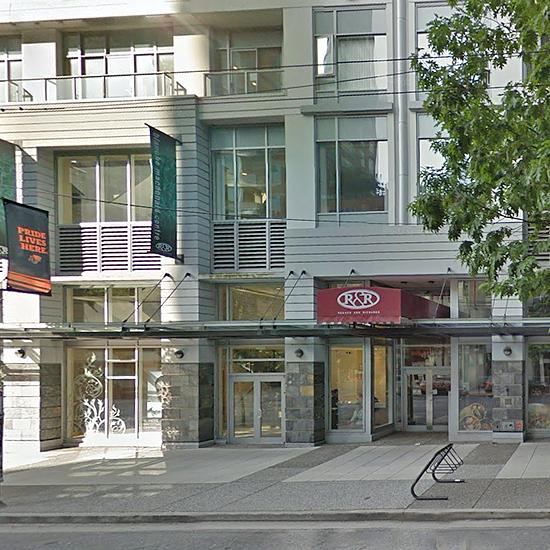 R&R - 480 Robson Street!