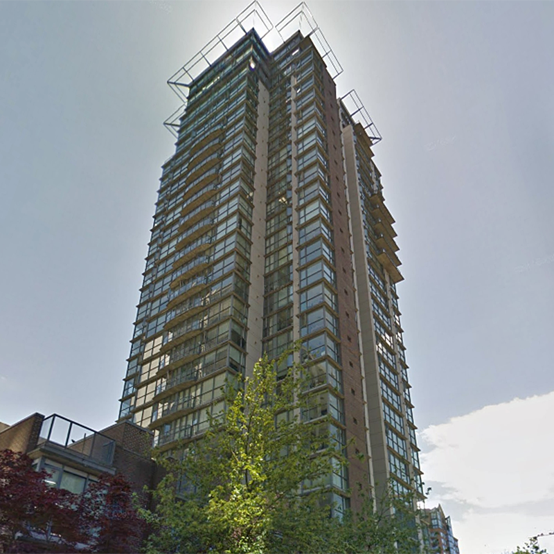 The Canadian at 1068 Hornby St.!