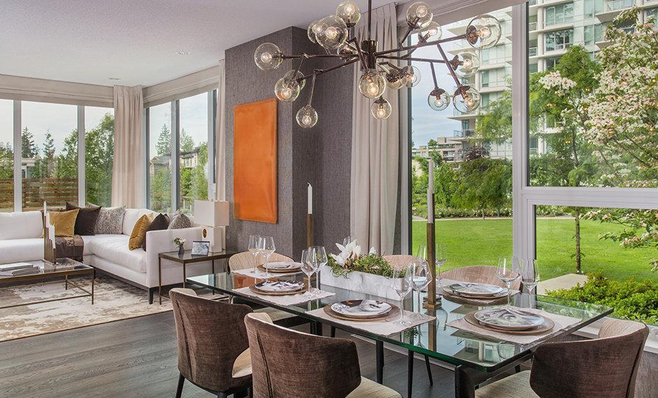 Eton Display Suite Dining Room!