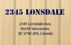2345 Lonsdale 2345 LONSDALE V7M 2K9