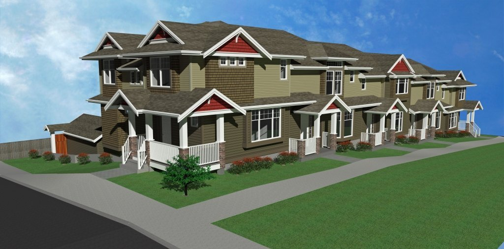 Townhomes Exterior!
