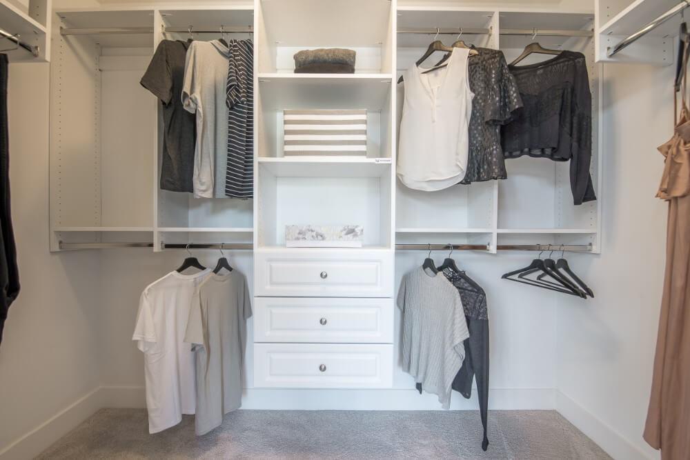 Walk-in closet!