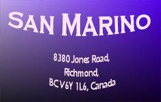 San Marino 8380 JONES V6Y 1L6