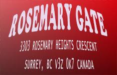 Rosemary Gate 3303 ROSEMARY HEIGHTS V3Z 0K7
